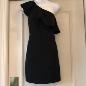 French Connection one shoulder dress sz 6
